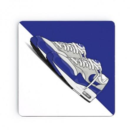 Dessous de verre carré Air Max 1 OG Blue   La Sneakerie