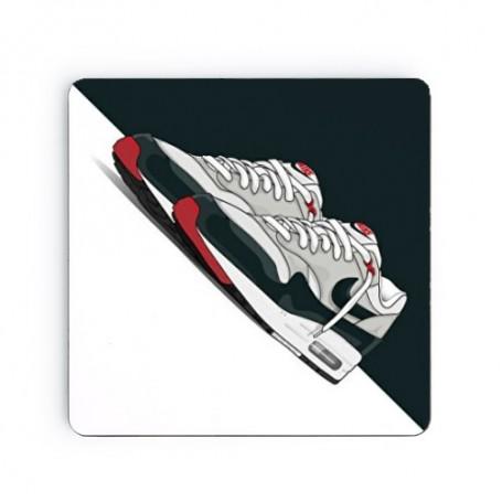 Dessous de verre carré Air Max 1 Obsidian | La Sneakerie