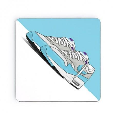 Dessous de verre carré Air Max 1 Aqua | La Sneakerie