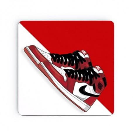 Air Jordan 1 Chicago Square Coaster | La Sneakerie