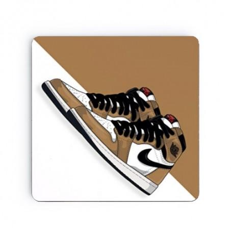 Air Jordan 1 Rookie Of The Year Square Coaster | La Sneakerie
