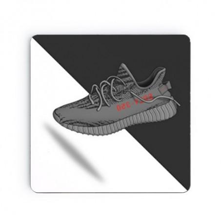 Dessous de verre carré Yeezy Boost 350 V2 Beluga | La Sneakerie