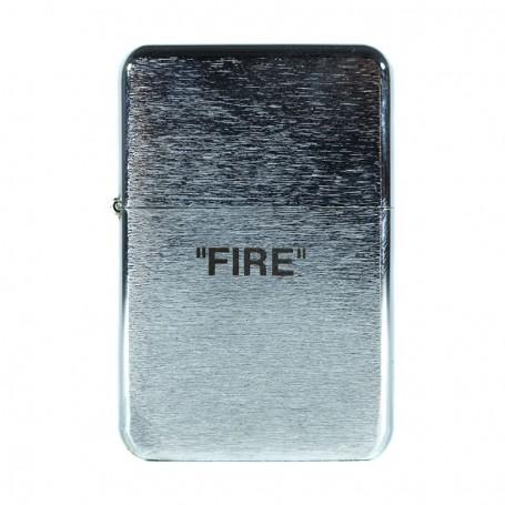 Briquet acier « FIRE » - LA SNEAKERIE