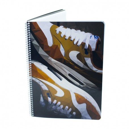 Air Max 1 Curry Notebook - LA SNEAKERIE