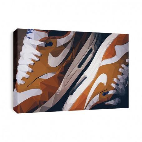 Air Max 1 Curry Canvas Print | La Sneakerie
