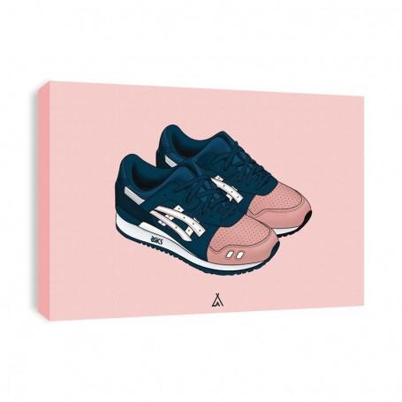 Tableau Gel-Lyte III Ronnie Fieg Salmon Toes | La Sneakerie