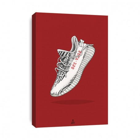 Leinwand Yeezy Boost 350 V2 Zebra   La Sneakerie
