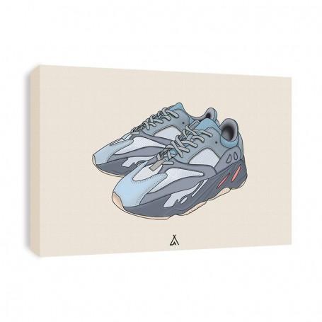 Leinwand Yeezy Boost 700 Inertia   La Sneakerie