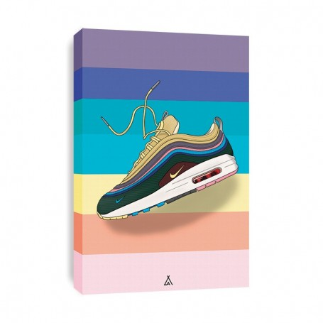 Leinwand Air Max 1/97 Sean Wotherspoon   La Sneakerie