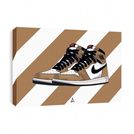 Air Jordan 1 Rookie Of The Year Canvas Print | La Sneakerie