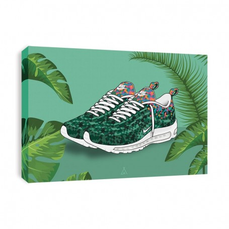 Air Max 97 RIO Canvas Print | La Sneakerie