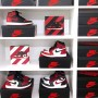 Air Jordan 1 Banned Square Print | La Sneakerie