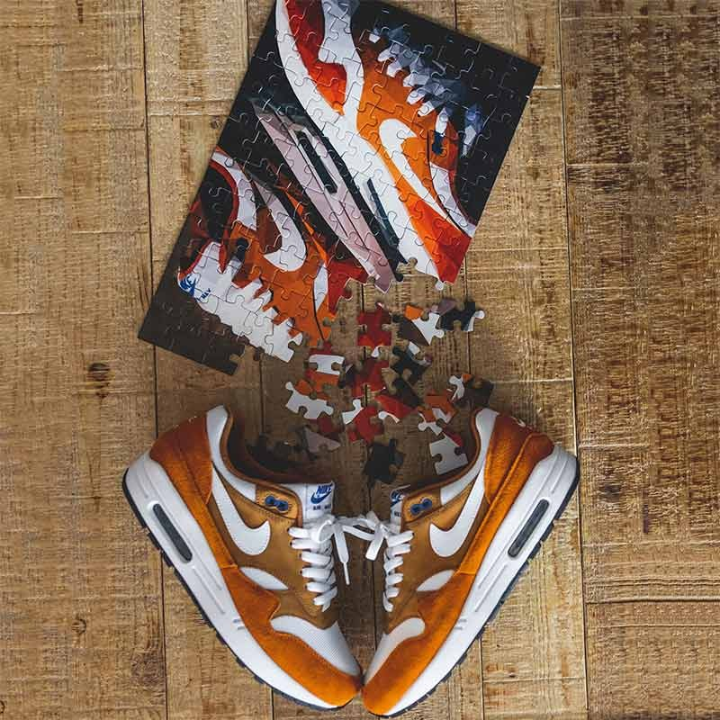 Puzzle Air Max 1 Curry