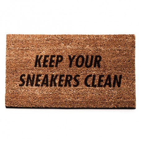 KEEP YOUR SNEAKERS CLEAN Mat | La Sneakerie