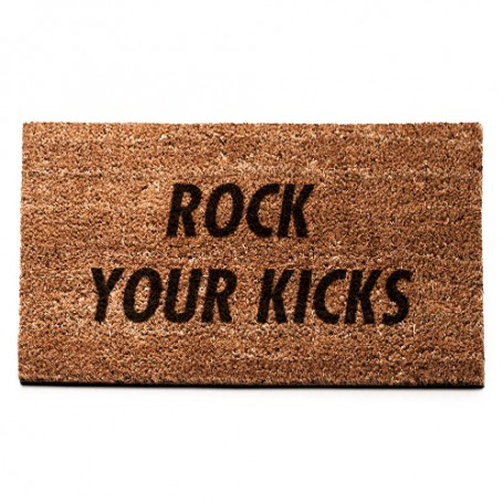 ROCK YOUR KICKS Mat | La Sneakerie