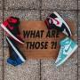 Paillasson WHAT ARE THOSE ?! | La Sneakerie