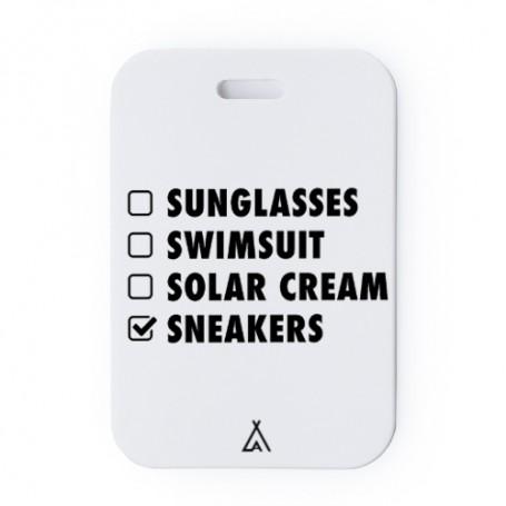 Etiquette bagage Check List | La Sneakerie
