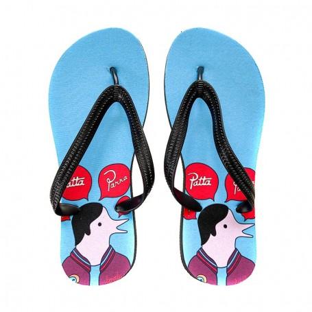 Tongs Air Max 1 Parra Patta Cherrywood | La Sneakerie