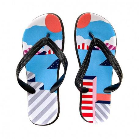 Tongs Air Max 1 Parra | La Sneakerie