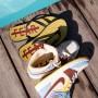 Air Jordan 1 Maison Château Rouge Flip-Flops | La Sneakerie