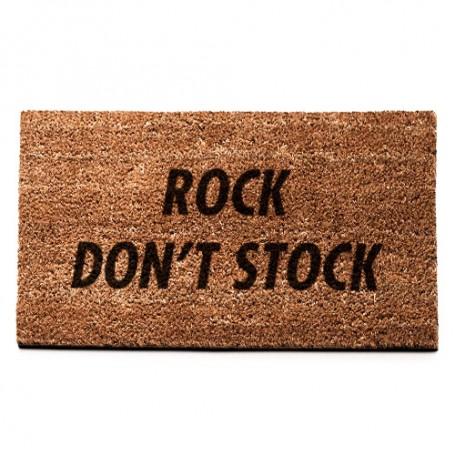 ROCK DON'T STOCK Mat | La Sneakerie