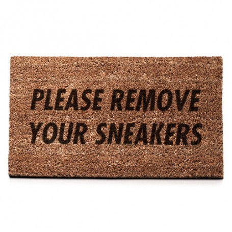 Türmatte PLEASE REMOVE YOUR SNEAKERS   La Sneakerie