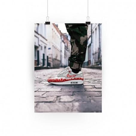 Poster Air Max 1 Sketch | La Sneakerie