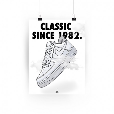 Poster Air Force 1 | La Sneakerie