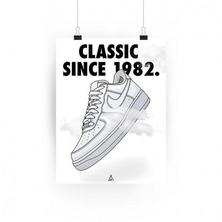 Poster Air Force 1 | La Sneakerie