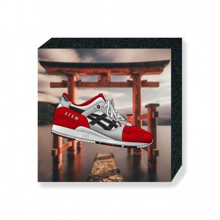 "Gel-Lyte III Afew ""Koi"" Square Print | La Sneakerie"