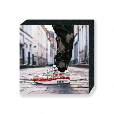 Air Max 1 Sketch Square Print | La Sneakerie