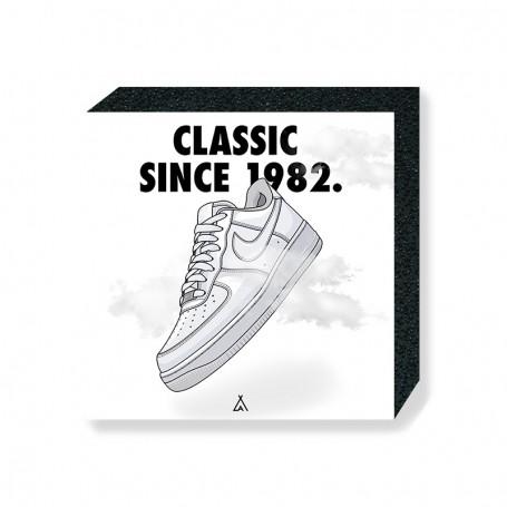 Wandbild Bloc Air Force 1 | La Sneakerie