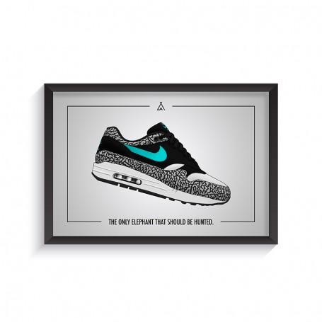 Rahmen Air Max 1 Atmos Elephant | La Sneakerie