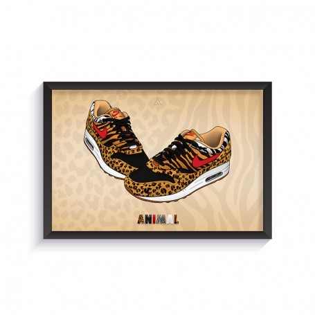 Air Max 1 Animal Frame | La Sneakerie