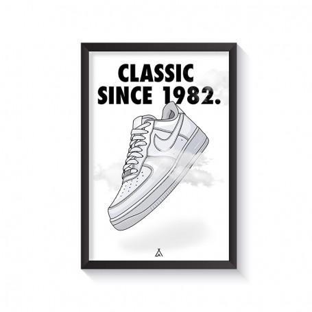 Rahmen Air Force 1 | La Sneakerie