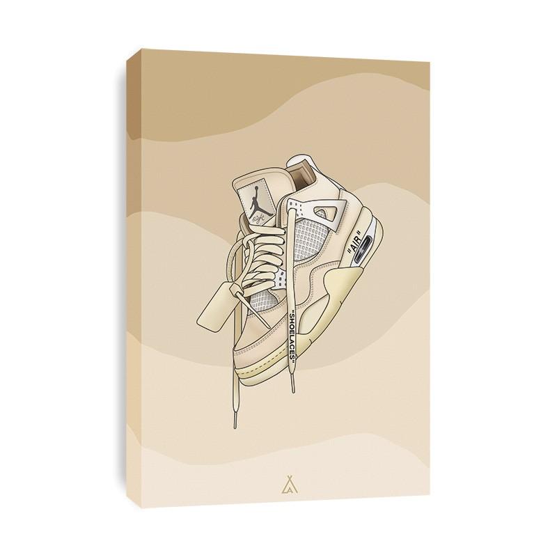 Tableau Air Jordan 4 Off White
