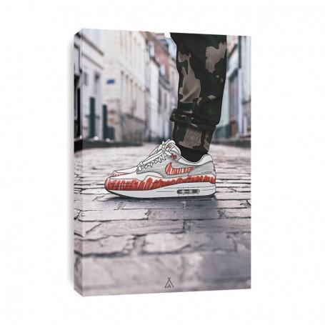 Air Max 1 Sketch Canvas Print | La Sneakerie