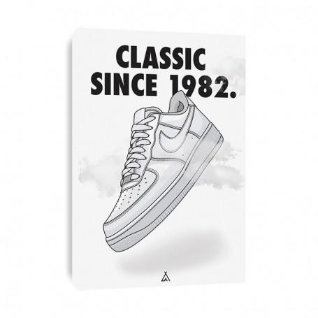 Tableau Air Force 1   La Sneakerie