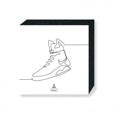 One Line MAG Square Print | La Sneakerie
