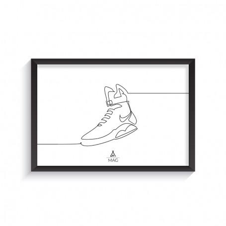 Cadre MAG One Line | La Sneakerie