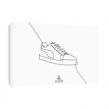 Tableau Puma Suede One Line | La Sneakerie