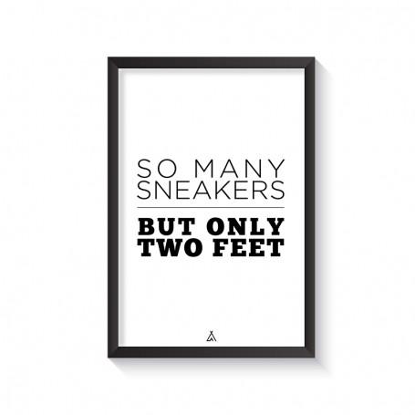 Rahmen So many sneakers but only two feet | La Sneakerie