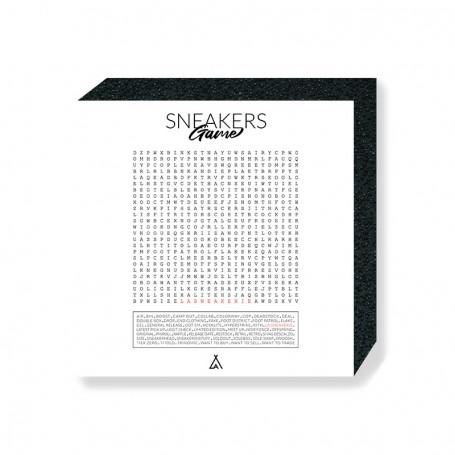 Mixed Words Square Print | La Sneakerie