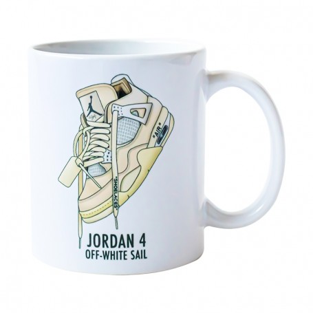 Air Jordan 4 OW Mug | La Sneakerie