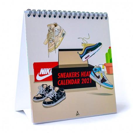 Calendrier Sneakers Heats 2021 | La Sneakerie