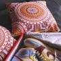 MCR Wax Tissue Inspiration Square Cushion | La Sneakerie
