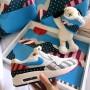 Quadratisches Kissen Parra | La Sneakerie