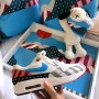 Coussin carré Parra | La Sneakerie