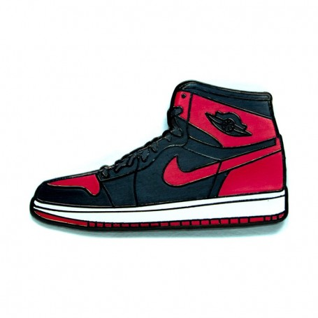 new styles ff0e3 057e7 Air Jordan 1 Bred Pin