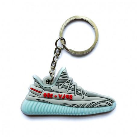 Porte-Clés Silicone Yeezy 350 V2 Blue Tint | La Sneakerie
